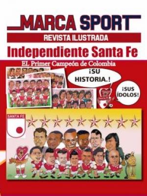 Historia Independiente Santa fe El primer Campeón de Colombia